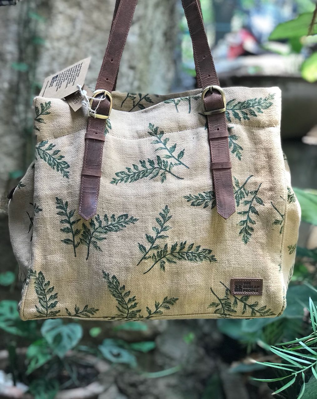Boyfriend bag in Tulsi Print