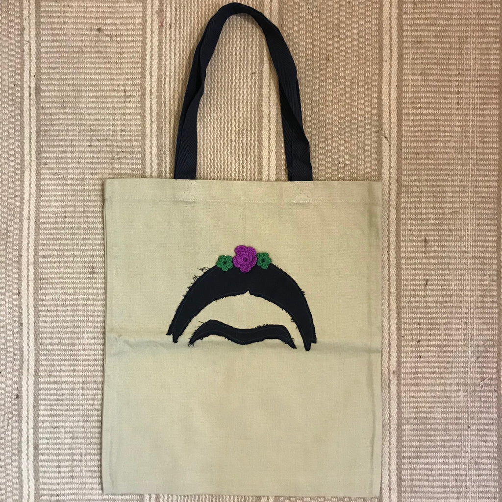 Cotton Canvas Tote Bag - Frida Kahlo