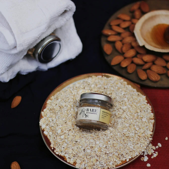 Breakfast Scrub: Honey Oatmeal Face Wash