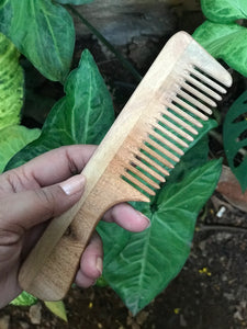 Neem Comb - Handle