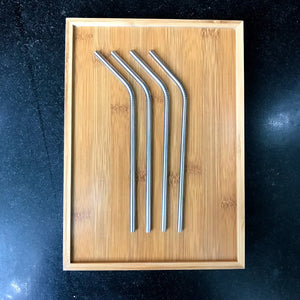 Stainless Steel Straw - Bent