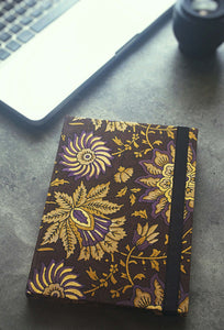 Multi Floral Print Journal