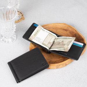 RIDGE Money Clip Black
