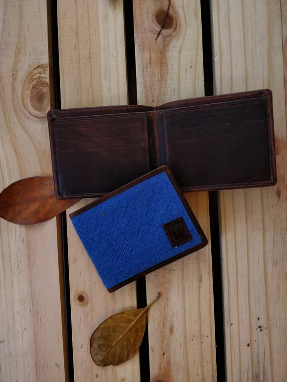 Sky Blue Men's Wallet