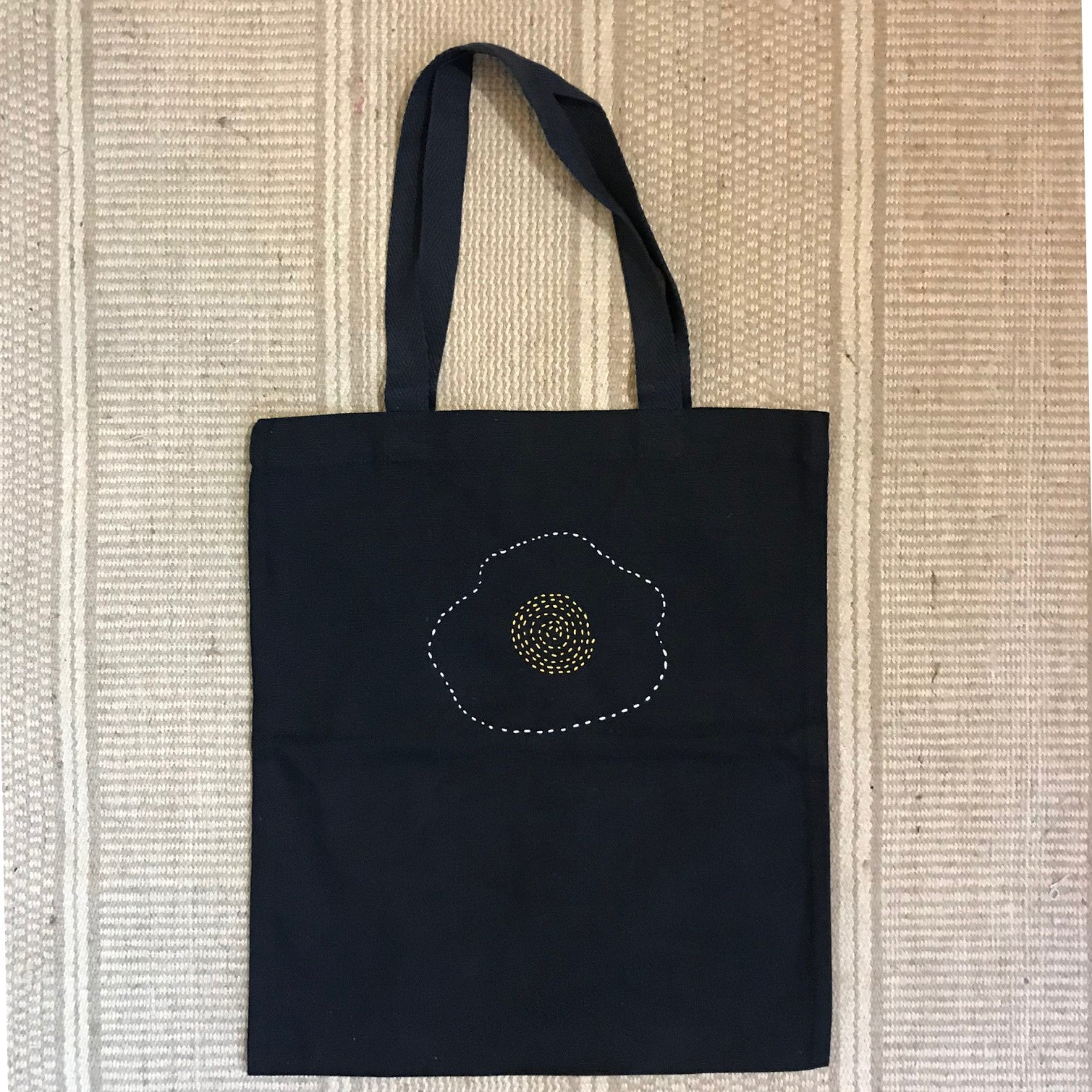 Cotton Canvas Tote Bag - Sunny Side Up