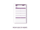 Purple Connector Inserts (Pack of 50 pages)