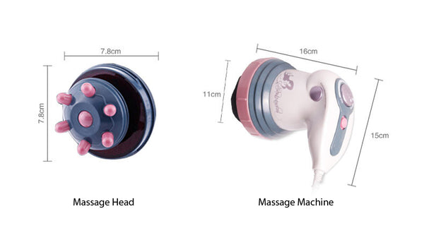 specifications of chisoft electric body slimming massager