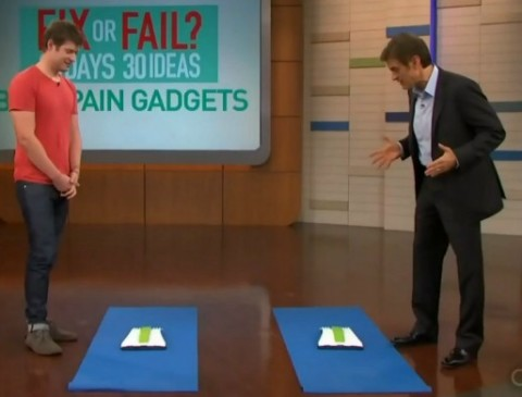 Dr Oz back stretcher