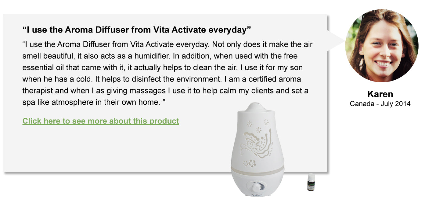 SpaSens Aroma Diffuser