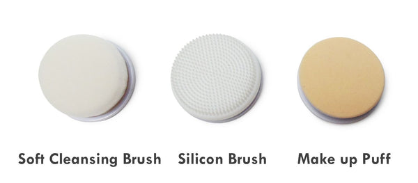 facial brush interchangeable heads