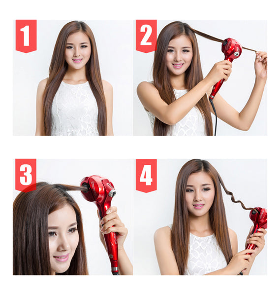 How to use Fyola Hair Curling Machine