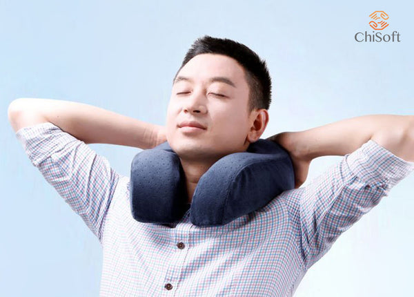 ChiSoft Memory Foam Travel Pillow