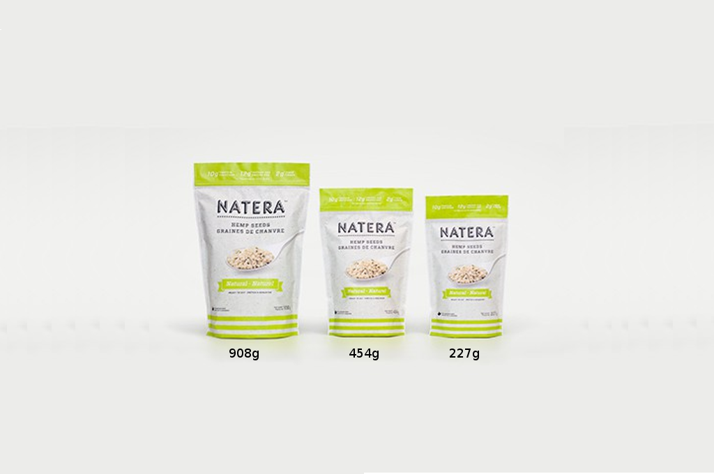 Hemp Seed Heart - Delicious Natural Flavor NATERA - Vita Activate