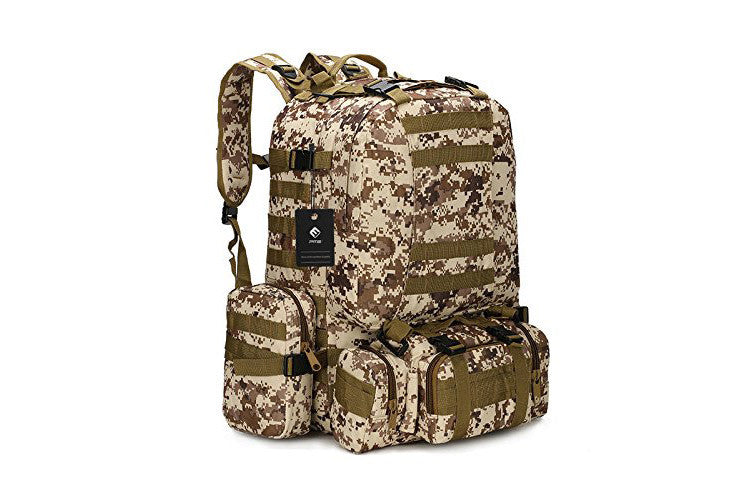 PME Backpack I 1000D Oxford Classical Military Hiking Camping Travel Backpack 50L - Vita Activate