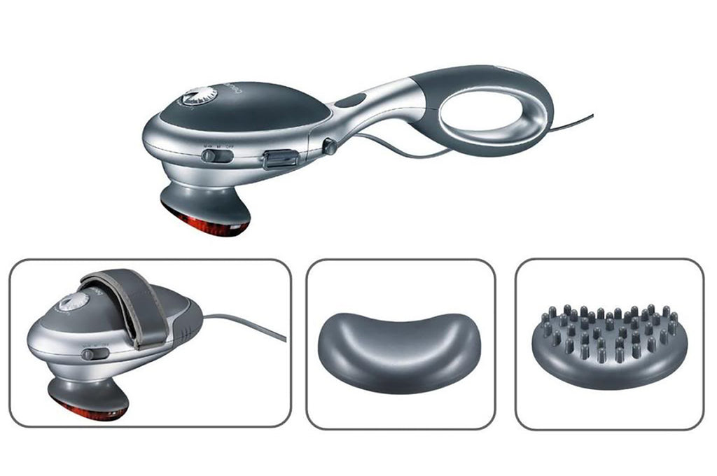 Infrared HandHeld Massager for Back - ChiSoft® - Vita Activate