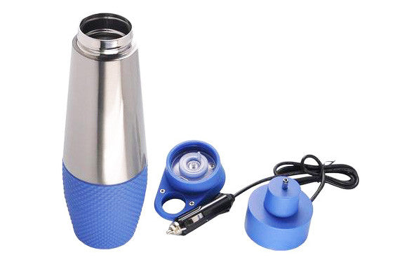 Stainless Steel Travel Mug - Truck - Digital Heated 24V DC Power Outlet - Vita Activate