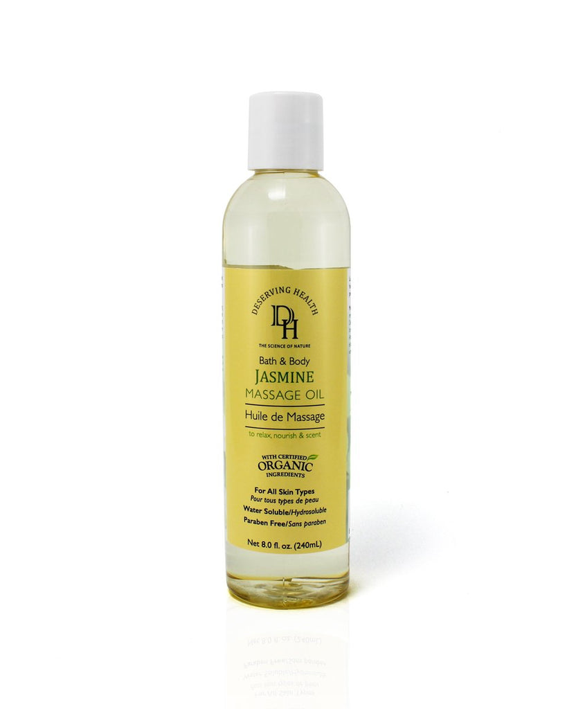 Soothing Jasmine Massage Oil for Bath and Body - Vita Activate