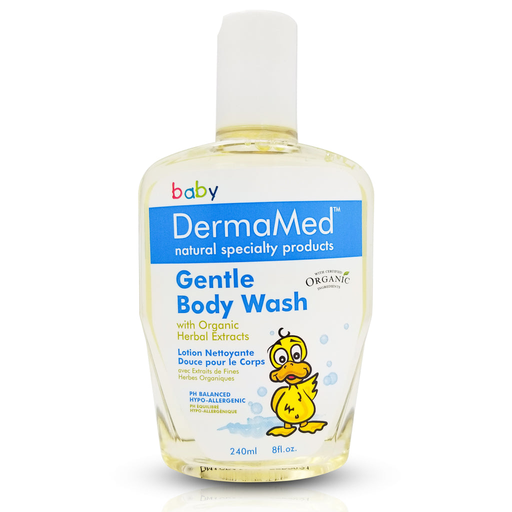 Organic Baby Calming Gentle Body Wash, Green Tea Extract - Vita Activate