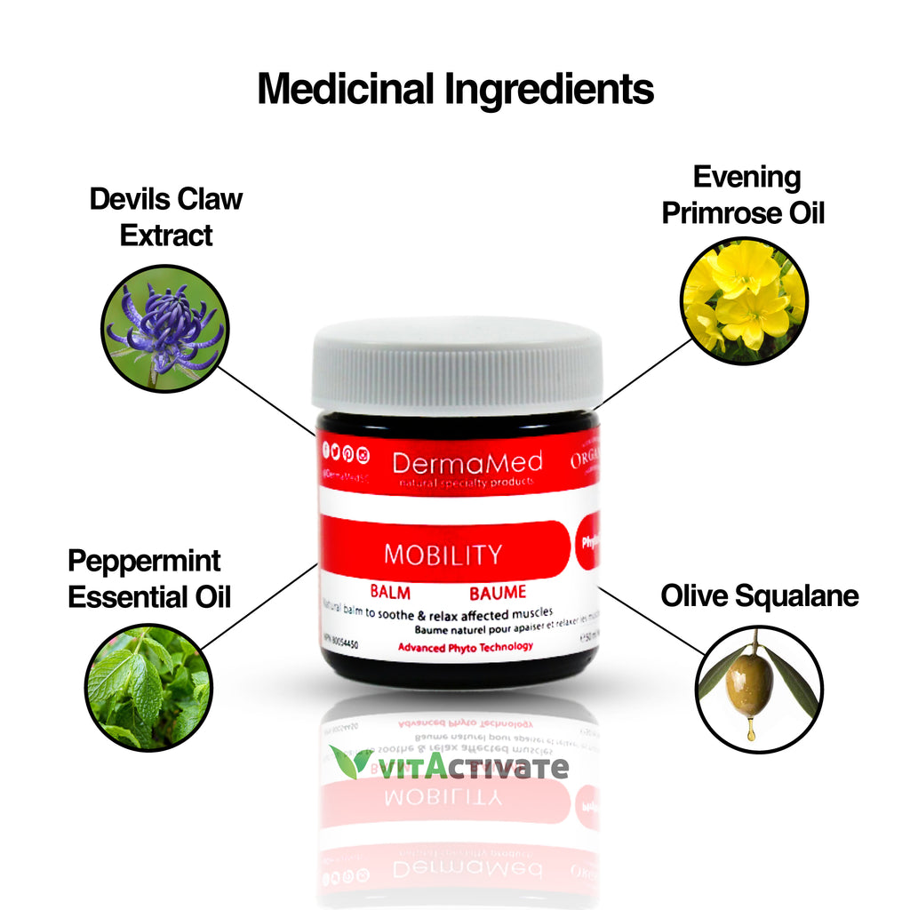 Muscle Pain Relief Cream - Organic Balm - Vita Activate