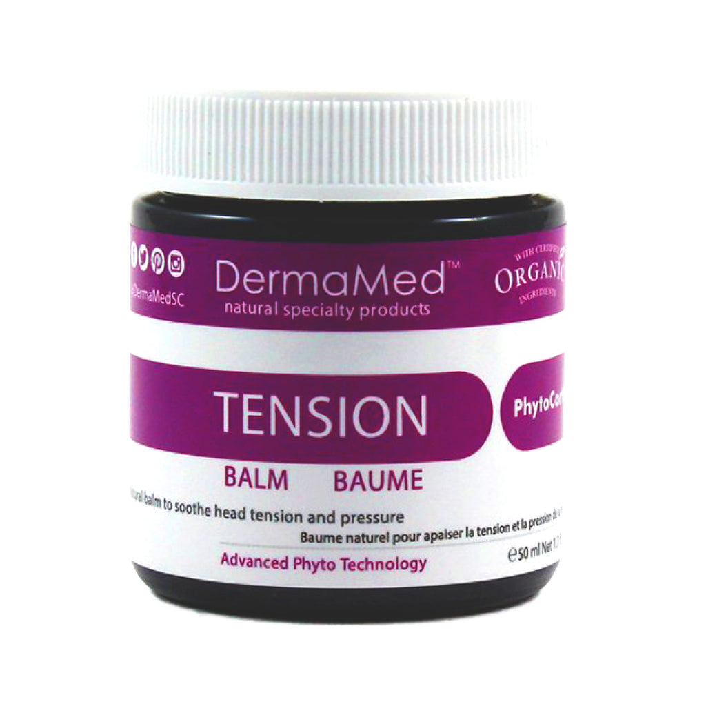 Headache or Migraine Relief Naturally with DermaMed Tension Balm - Vita Activate