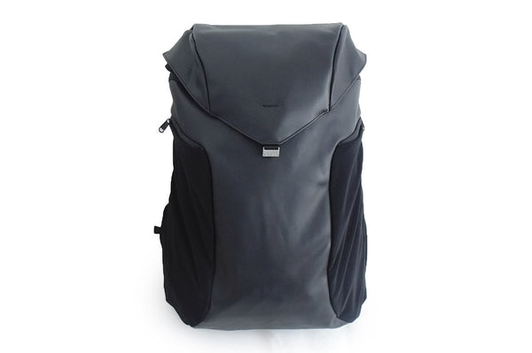 Anti-Theft Joey Backpack - Black Leather Limited Edition - Vita Activate