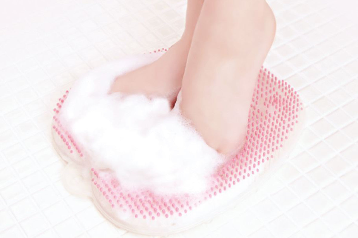 Foot Scrubber For Shower Foot Washing Brush Massager