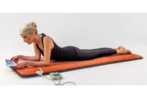PEMF Mat - Full Body Infrared Heat with Tourmaline + Amethyst + Obsidian - Vita Activate