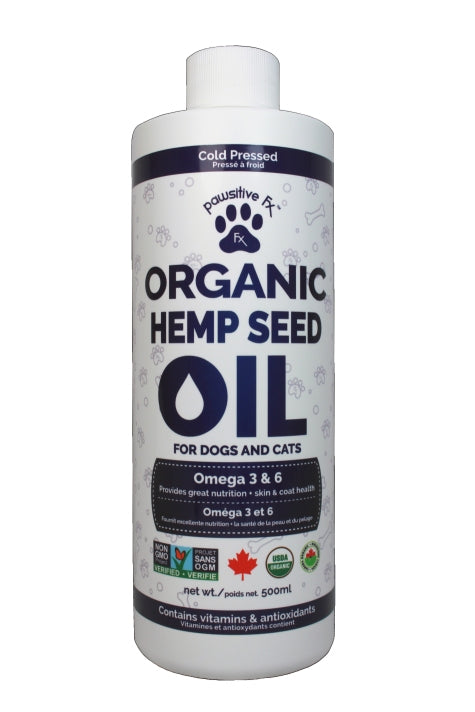 Organic Dog Hemp Seed Oil for Better Health  - Natera - Vita Activate