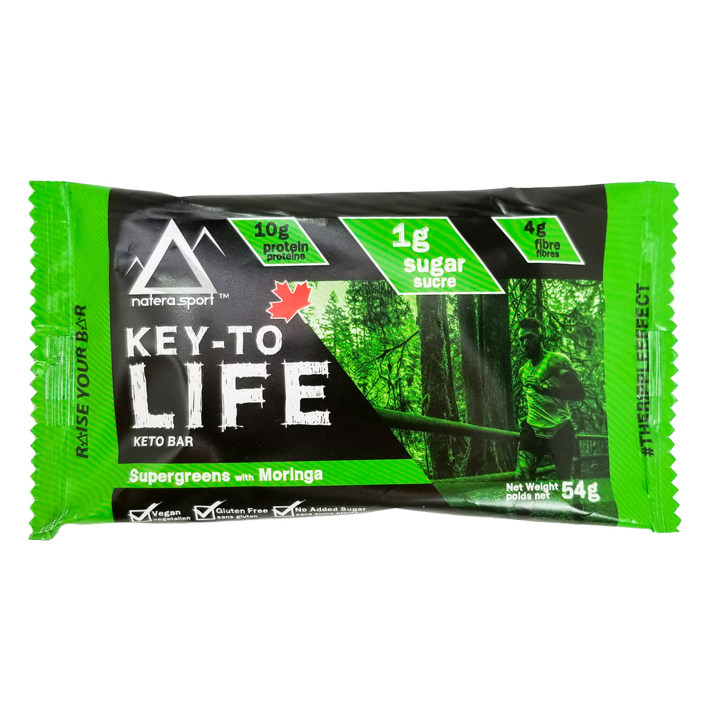 Keto Diet Bar - Hemp Plant Protein (6-Pack) - moringa - Vita Activate