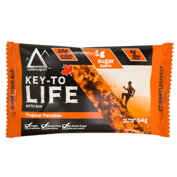Keto Diet Snack - Supplement Bar - Tropical Paradise - Vita Activate