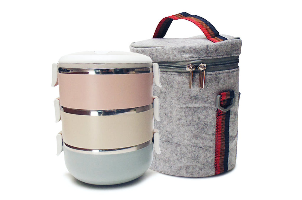 Lunch Box Large Capacity Stainless Steel - Vita Activate