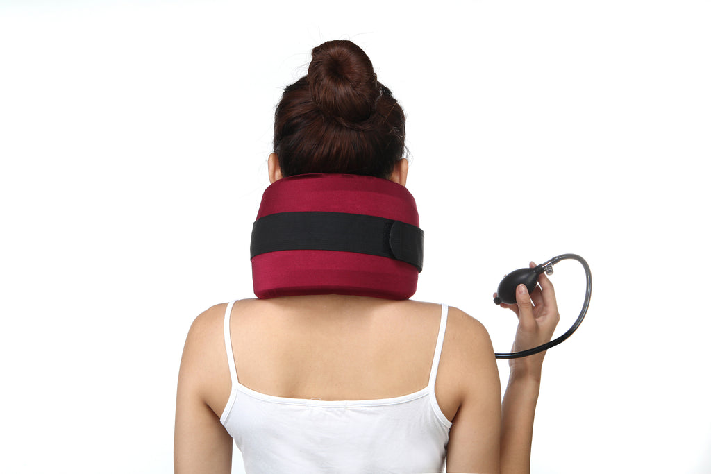 ChiSoft Neck Traction Device 1-Layer - Long Velcro Strap - Vita Activate