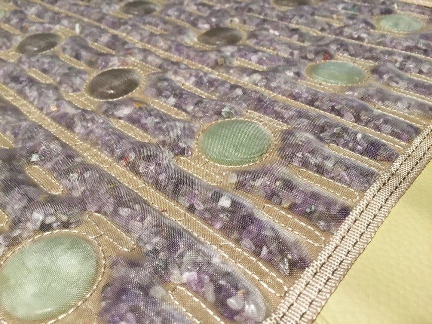 PEMF + FIR Heating Mat with Gemstones: Amethyst + Jade +Tourmaline. - Vita Activate