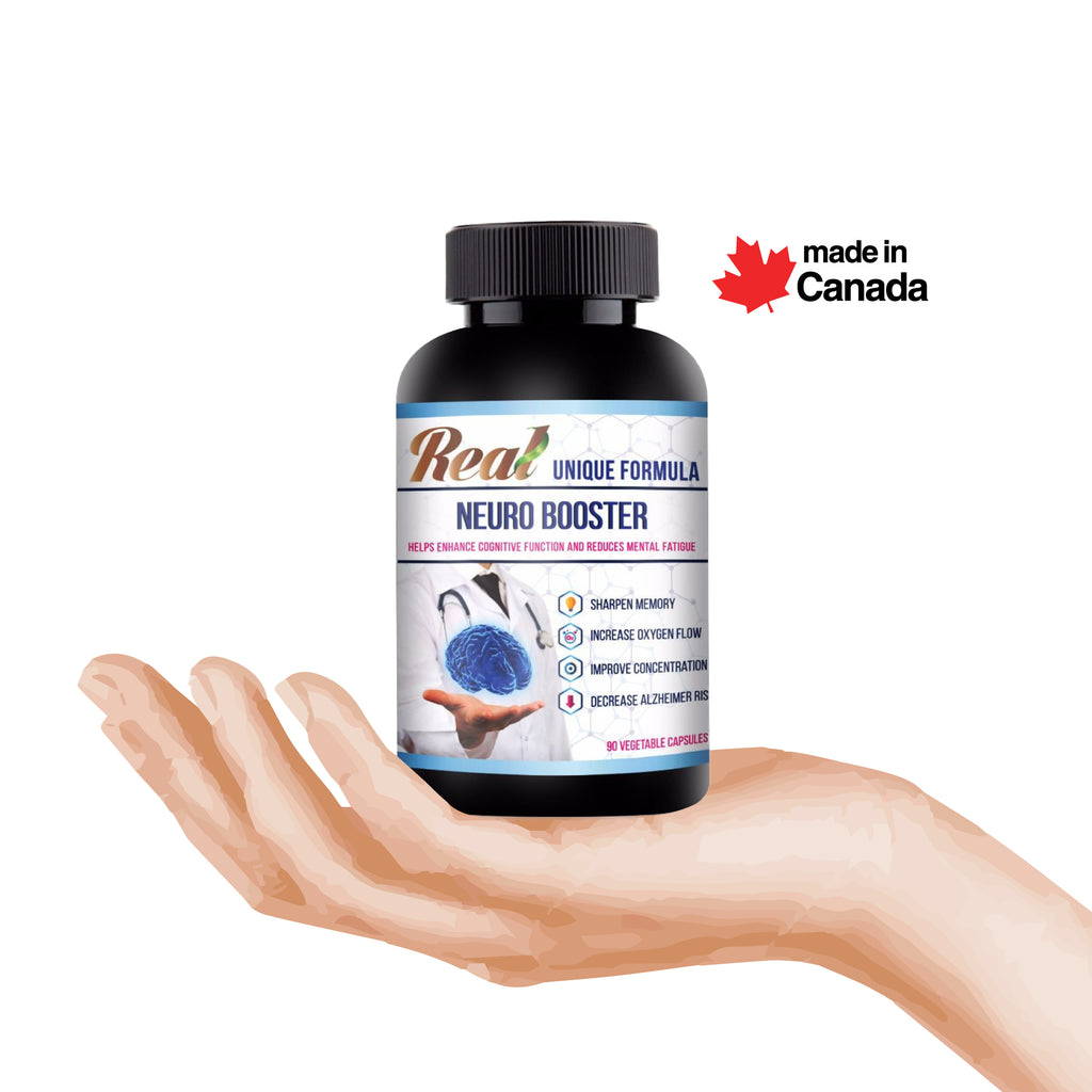 Memory Neuro Booster Herbal Supplement - Vita Activate