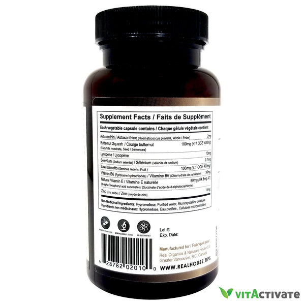 Prostate Care Supplement - REAL HOUSE - Vita Activate