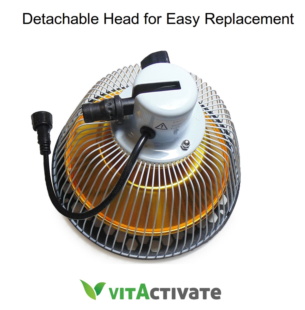 TDP Lamp 2 Heads - 3rd Generation VITA ACTIVATE Mineral Lamp - Vita Activate