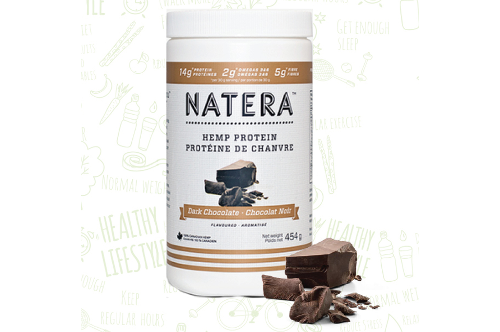 Hemp Protein + Omega Dark Chocolate NATERA Vegan Friendly - Vita Activate