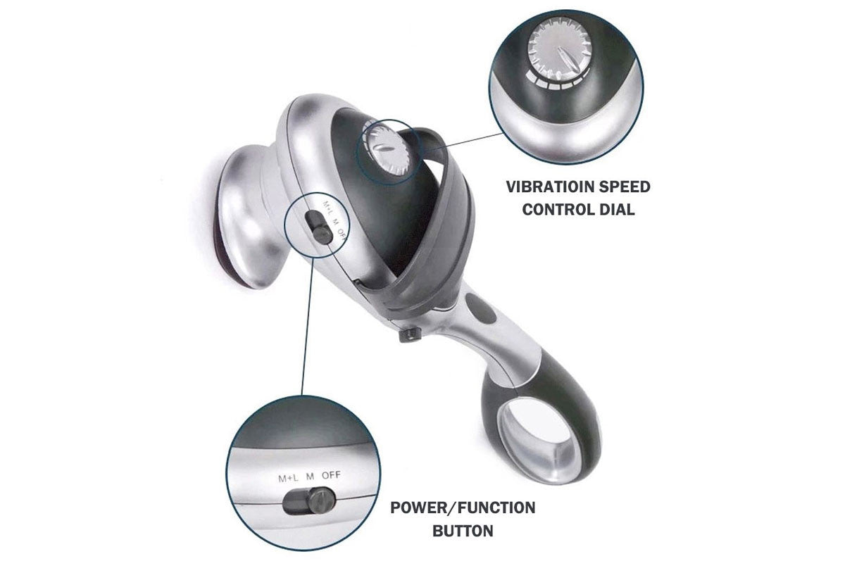 Hand Held Massager Machine For Back Portable Handheld