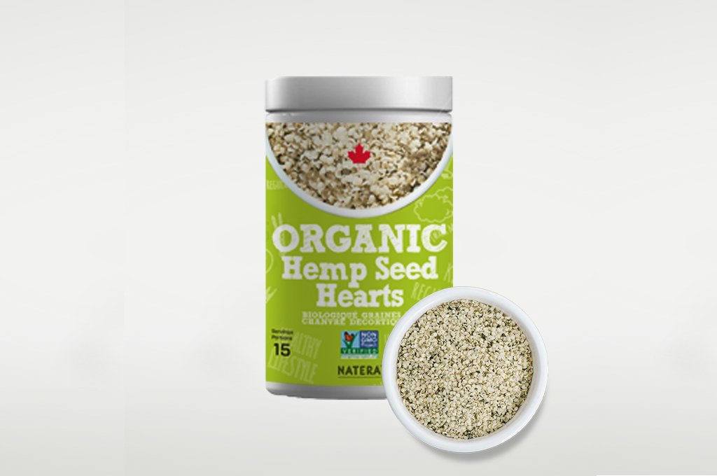 Organic Hemp Seed Hearts - Vita Activate