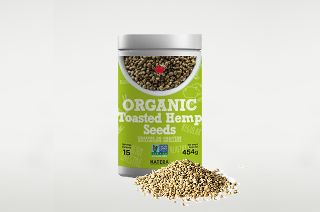 Organic Toasted Hemp Seeds - Vita Activate