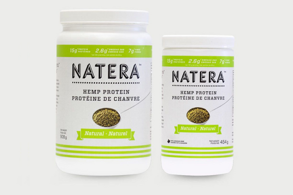 NATERA Hemp Protein  - 100% Plant Based Ultra Rich Protein - Vita Activate