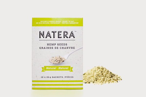 NATERA Natural Hemp Seeds 12-Pack - Vita Activate