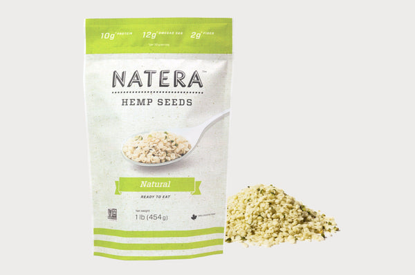 NATERA Hemp Seeds Natural - Vita Activate