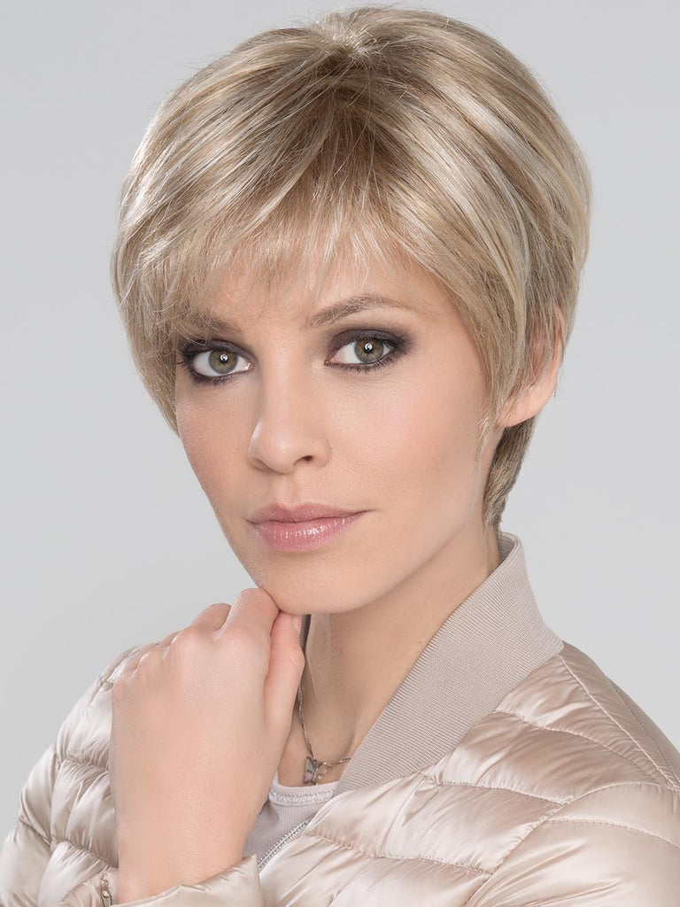EVER MONO by ELLEN WILLE in Pearl Platinum, Dark Ash Blonde, and Medium Honey Blonde mix