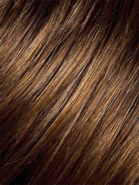 HAZELNUT-MIX | Medium Brown base with Medium Reddish Brown and Copper Red highlights