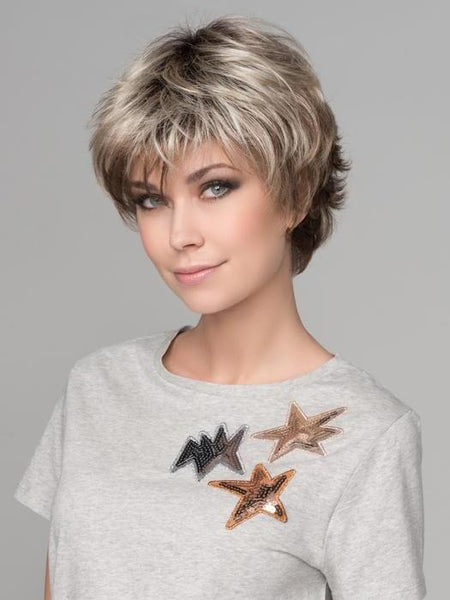 Ellen Wille | Hair Power | Club 10 in SAND MULTI ROOTED | Lightest Brown and Medium Ash Blonde Blend with Light Brown Roots