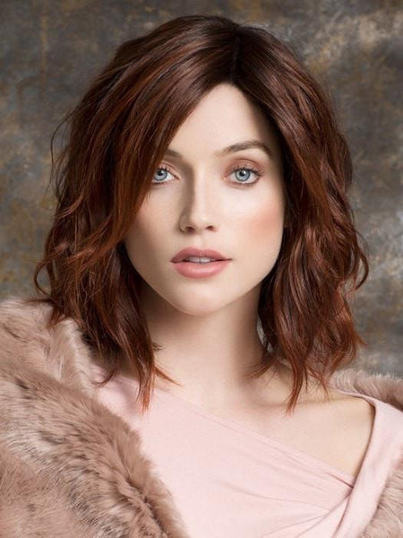 SPIRIT by Ellen Wille in AUBURN ROOTED  | Dark Auburn, Bright Copper Red, and Warm Medium Brown Blend with Dark Roots