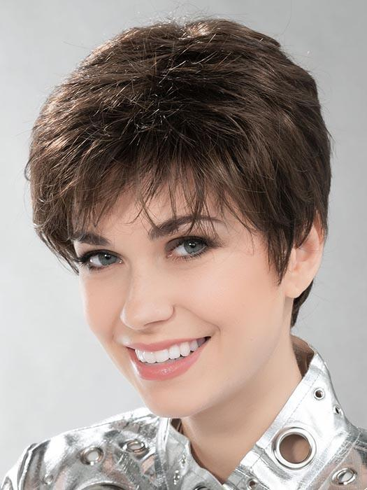 SIDE by ELLEN WILLE in CHOCOLATE MIX 6.830 | Medium to Dark Brown base with Light Reddish Brown highlights