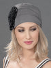 CAYENNE by ELLEN WILLE in LIGHT BLONDE MIX paired with FLORA HEADWEAR in GREY