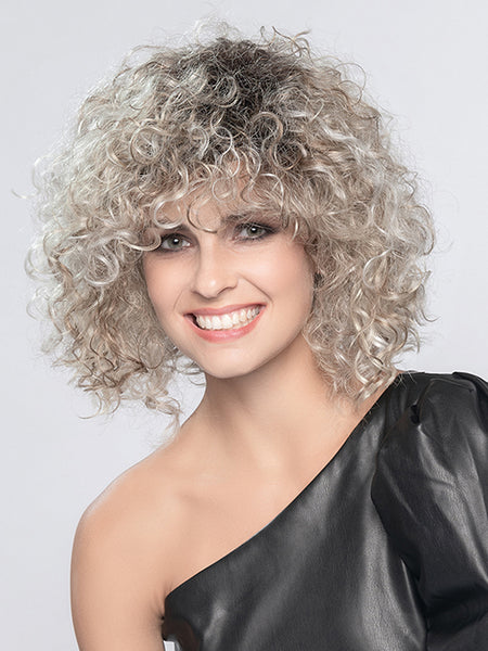 DISCO by ELLEN WILLE in PEARL BLONDE ROOTED 101.16.1001 | Pearl Platinum, Dark Ash Blonde, and Medium Honey Blonde mix